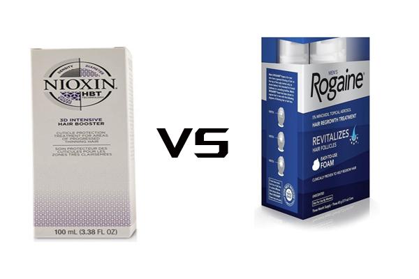 Nioxin vs Rogaine